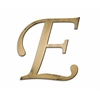 Letter2Word Individual Script Letters Wall Decor, Letter E