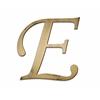 Individual Script Letters Wall Decor, Letter E