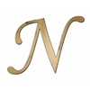 Letter2Word Individual Script Letters Wall Decor, Letter N