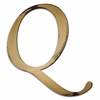 Letter2Word Individual Script Letters Wall Decor, Letter Q