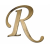 Individual Script Letters Wall Decor, Letter R