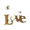 Letter2Word Love with Hearts Wall Decor