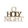Letter2Word O Holy Night Wall Decor