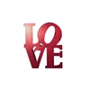 Letter2Word Stacked Love Wall Decor