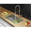 Ruvati RVC1302 Stainless Steel Kitchen Sink and Stainless Steel Faucet Set
