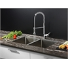 RVC1311 Stainless Steel Kitchen Sink and Chrome Faucet Set