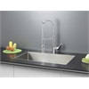 RVC1321 Stainless Steel Kitchen Sink and Chrome Faucet Set