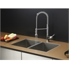 RVC1331 Stainless Steel Kitchen Sink and Chrome Faucet Set