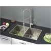 Ruvati RVC1332 Stainless Steel Kitchen Sink and Stainless Steel Faucet Set
