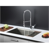 RVC1371 Stainless Steel Kitchen Sink and Chrome Faucet Set