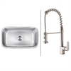 RVC1492 Stainless Steel Kitchen Sink and Stainless Steel Faucet Set