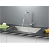 Ruvati RVC2302 Stainless Steel Kitchen Sink and Chrome Faucet Set