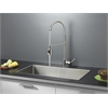 Ruvati RVC2308 Stainless Steel Kitchen Sink and Stainless Steel Faucet Set