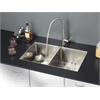 RVC2313 Stainless Steel Kitchen Sink and Stainless Steel Faucet Set