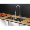 Ruvati RVC2314 Stainless Steel Kitchen Sink and Stainless Steel Faucet Set