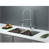 RVC2316 Stainless Steel Kitchen Sink and Chrome Faucet Set