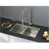Ruvati RVC2318 Stainless Steel Kitchen Sink and Stainless Steel Faucet Set