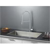 RVC2321 Stainless Steel Kitchen Sink and Chrome Faucet Set