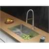 Ruvati RVC2324 Stainless Steel Kitchen Sink and Stainless Steel Faucet Set