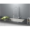 Ruvati RVC2326 Stainless Steel Kitchen Sink and Chrome Faucet Set