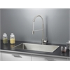 Ruvati RVC2327 Stainless Steel Kitchen Sink and Stainless Steel Faucet Set