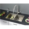 RVC2330 Stainless Steel Kitchen Sink and Stainless Steel Faucet Set