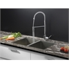 RVC2331 Stainless Steel Kitchen Sink and Chrome Faucet Set