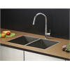 Ruvati RVC2332 Stainless Steel Kitchen Sink and Chrome Faucet Set