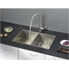 Ruvati RVC2333 Stainless Steel Kitchen Sink and Stainless Steel Faucet Set