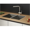 RVC2335 Stainless Steel Kitchen Sink and Stainless Steel Faucet Set