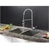 Ruvati RVC2336 Stainless Steel Kitchen Sink and Chrome Faucet Set