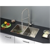 Ruvati RVC2337 Stainless Steel Kitchen Sink and Stainless Steel Faucet Set