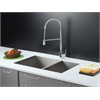 RVC2341 Stainless Steel Kitchen Sink and Chrome Faucet Set