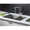 RVC2345 Stainless Steel Kitchen Sink and Stainless Steel Faucet Set