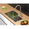 RVC2350 Stainless Steel Kitchen Sink and Stainless Steel Faucet Set
