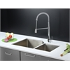 Ruvati RVC2351 Stainless Steel Kitchen Sink and Chrome Faucet Set