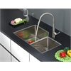 RVC2353 Stainless Steel Kitchen Sink and Stainless Steel Faucet Set