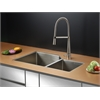 RVC2354 Stainless Steel Kitchen Sink and Stainless Steel Faucet Set