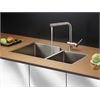RVC2355 Stainless Steel Kitchen Sink and Stainless Steel Faucet Set