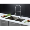 RVC2356 Stainless Steel Kitchen Sink and Chrome Faucet Set