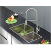 RVC2358 Stainless Steel Kitchen Sink and Stainless Steel Faucet Set
