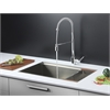 Ruvati RVC2371 Stainless Steel Kitchen Sink and Chrome Faucet Set
