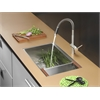 RVC2379 Stainless Steel Kitchen Sink and Stainless Steel Faucet Set