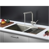 Ruvati RVC2385 Stainless Steel Kitchen Sink and Stainless Steel Faucet Set