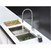 RVC2387 Stainless Steel Kitchen Sink and Stainless Steel Faucet Set