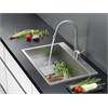 RVC2393 Stainless Steel Kitchen Sink and Stainless Steel Faucet Set