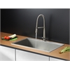 Ruvati RVC2394 Stainless Steel Kitchen Sink and Stainless Steel Faucet Set