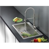Ruvati RVC2398 Stainless Steel Kitchen Sink and Stainless Steel Faucet Set