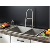 RVC2404 Stainless Steel Kitchen Sink and Stainless Steel Faucet Set