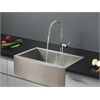 Ruvati RVC2422 Stainless Steel Kitchen Sink and Chrome Faucet Set